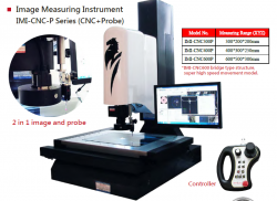 Vision Measuring with Touch Probe Metrology model IMI-CNC300P