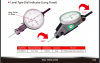 Level Type Dial Indicator (Long Travel) Metrology | Model LD-9001LT