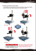 Measuring Stand Metrology | Model MS-S1510 | Model MS-S2015